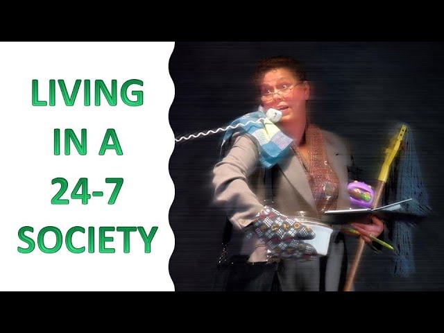 Q3, Lesson 1. Living in a 24-7 Society ︱English Sabbath School Lesson Study