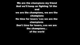Crazy Frog- We Are The Champions- Lyrics HD!