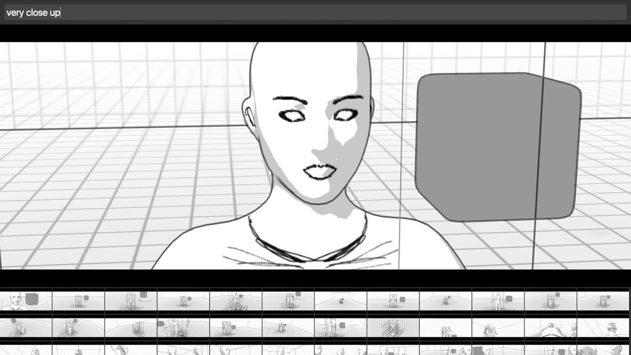 Storyboarder Shot Template System Demo