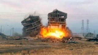 US demolition shrapnel injures onlookers