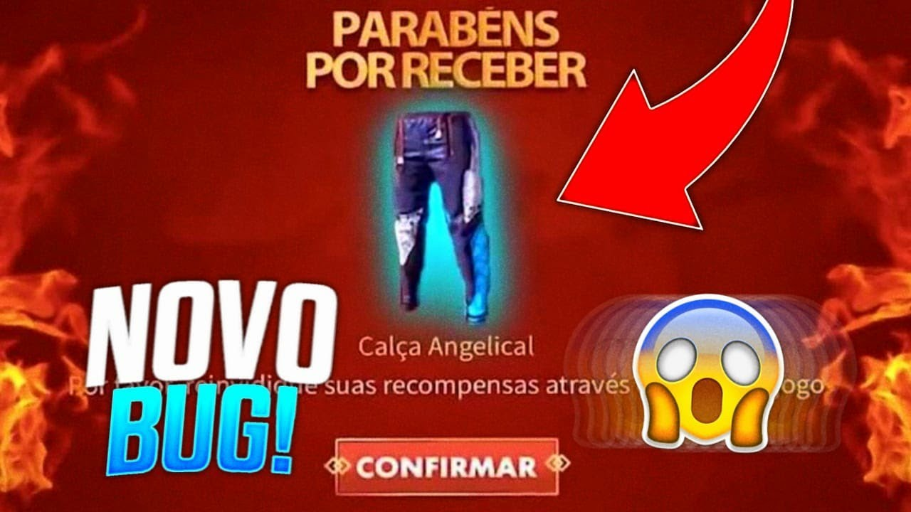 NOVO BUG PARA PEGAR A CALÇA ANGELICAL COM 1 GIRO NO FREE FIRE! EVENTO DO SAMURAI ZUMBIFICADO