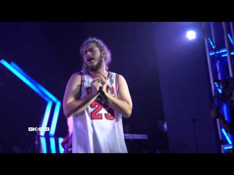 "Post Malone ""Too Young"" LIVE On SKEE TV"