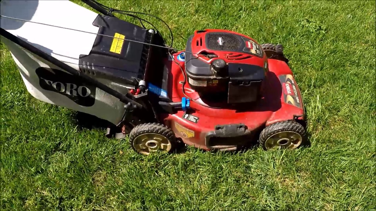 Toro Personal Pace Trash Find Model 20333 Runs Broken Self Propelled Unit April 14 2017