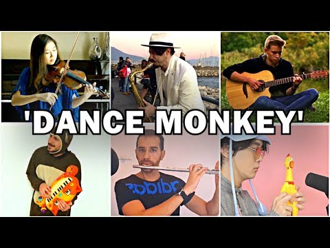 Who Played It Better: Dance Monkey (Sax, Violin, Chicken, Cat Piano, Guitar, Flute)