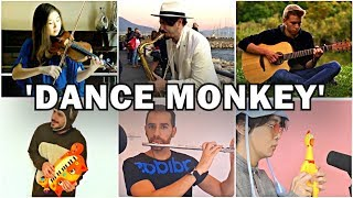 Who Played it Better: Dance Monkey Sax, Violin, Chicken, Cat Piano, Guitar, Flute