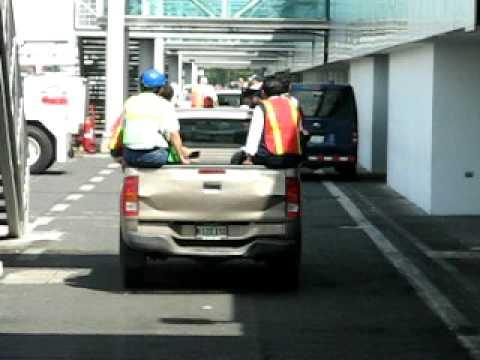 Recorrido por pista aérea Aeropuerto Internacional Augusto C. Sandino en Managua
