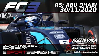 ESPORTSERIES.NET | FC3 2020 | R5 | ABU DHABI