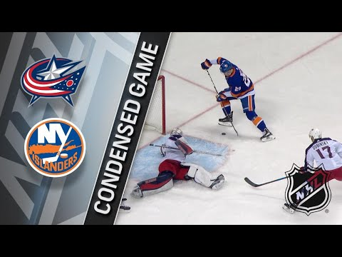 02/03/18 Condensed Game: Blue Jackets @ Islanders