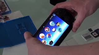 Sony PlayStation Vita Unbox