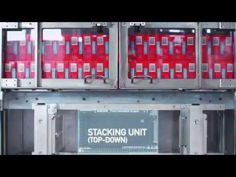 CP12-TL Medium Speed Side-load Case Packer For Cartons