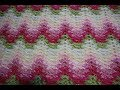 How to crochet the Grandma Spiked My Ripple Blanket Stitch/ Amish afghan/Heart Beat Ripple