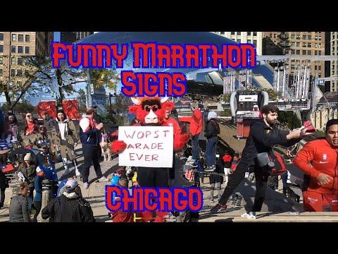 Marathon Sign Ideas