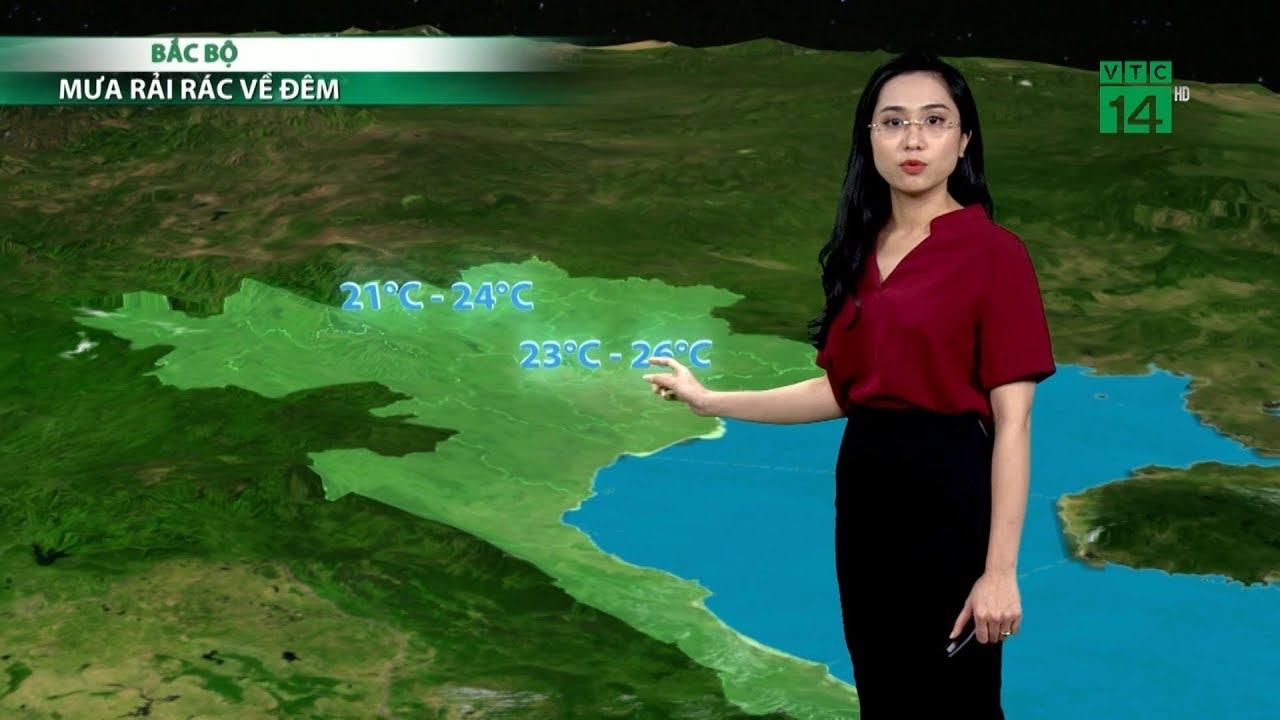 Thời tiết cuối ngày 10/04/2019: Đêm nay miền Bắc phổ biến có mưa, song lượng mưa không nhiều | VTC14