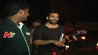 Small Screen Actor Bharani Caught In Drunk Drive Test | NTV