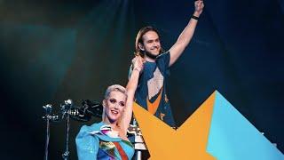 Katy Perry & Zedd - 365 (Live at Jam Fest)