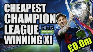 Cheapest Champions League Winning XI