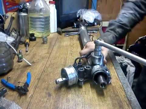 Разро рулевой рейки ZF полсе спец сервиса по ремонту реек.