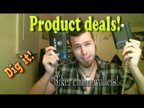 Biker Style Chain Wallet Product Deal And Review!