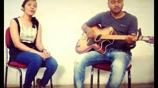 Alfazon Ki Tarah ( Unplugged guitar cover by monika & vivek ) @ ROCKY HANDSOME @