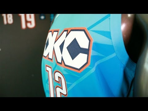 new concept 7c5b3 20f6d Oklahoma City Thunder Nike City Edition Uniforms for 2018 ...