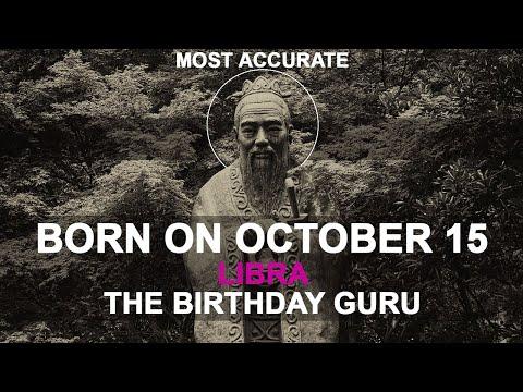 Born on October 15 | Birthday | #aboutyourbirthday | Sample