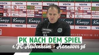 PK nach dem Spiel | 1. FC Heidenheim - Hannover 96