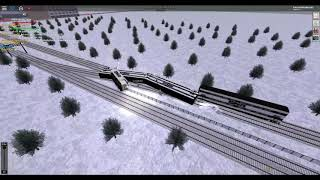 ROBLOX Rails Unlimited SNR Train Crashed at Pinewood 2