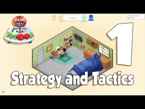 Game Dev Tycoon Strategy & Tactics #1 - Ficklewood Studios Returns!