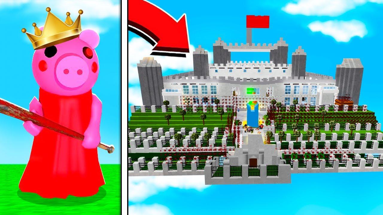 ROBLOX PIGGY CASTLE IN THE SKY MAP! (Piggy Build Mode)