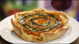 Рецепт недели: овощной пирог, глаз не отвести
