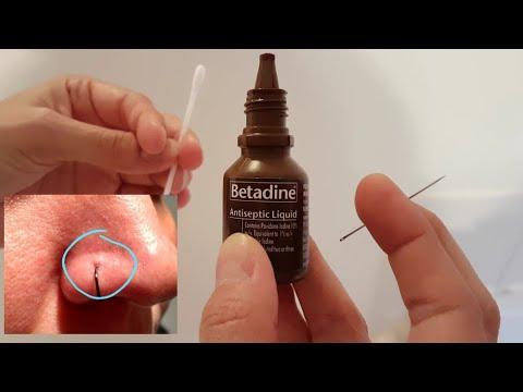 Como Eliminar El Grano Por Piercing En La Nariz Nose Piercing Youtube