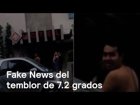 Las noticias falsas del sismo del 16 de febrero en México - En Punto con Denise Maerker