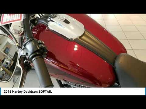 2016 Harley Davidson Softail State College Pa 205026a Youtube