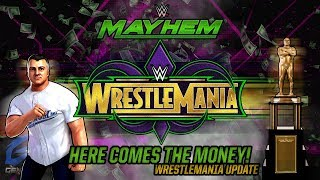 Here Comes The Money! | WRESTLEMANIA Update | WWE Mayhem