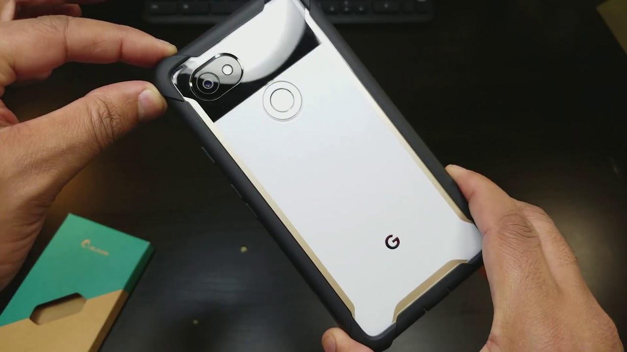 more photos 2523e e3fb3 Pixel 2 XL i-Blason ARES Rugged Case with built in Screen Protector