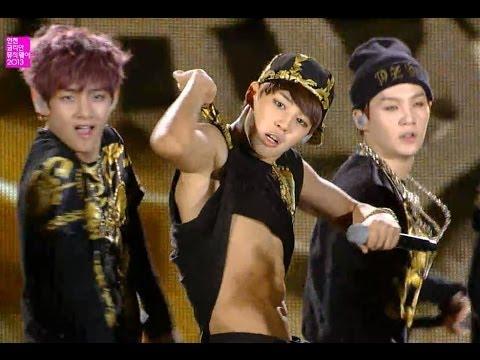 【TVPP】BTS - No More Dream, 방탄소년단 - 노 모어 드림 @ Incheon Korean Music Wave