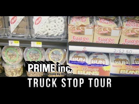 Prime Inc  Truck Stop Tour