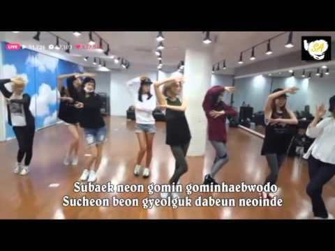 Lion Heart (SNSD)~Dance Practice + Lyric
