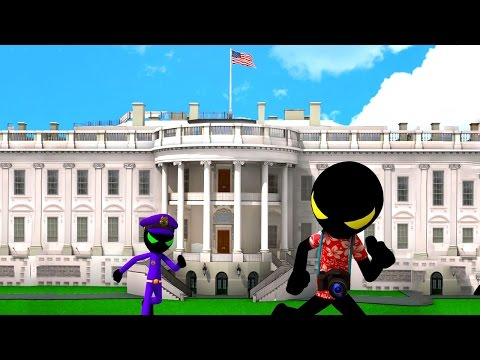 Stickman White House Escape (by GENtertainment Studios) Android Gameplay [HD]