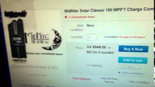 Midnite 150 classic lowest price $549.95 - Cheapest price ever advertized 250