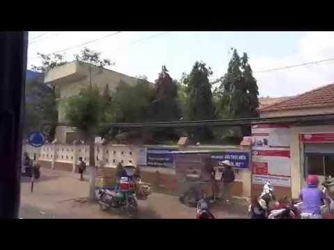 street view of Soc Trang city - Vietnam