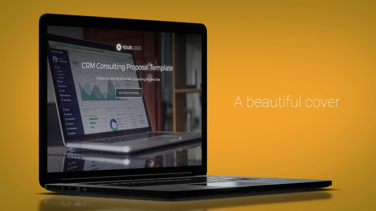 Free Crm Consulting Proposal Template Youtube
