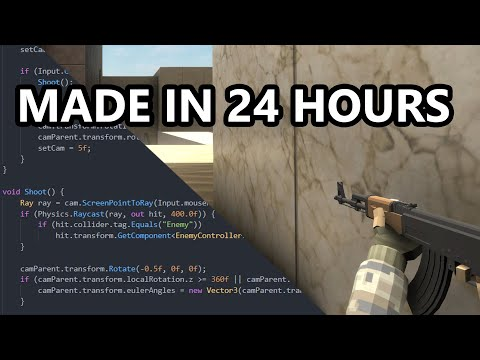 I Made Counter Strike In 24 Hours