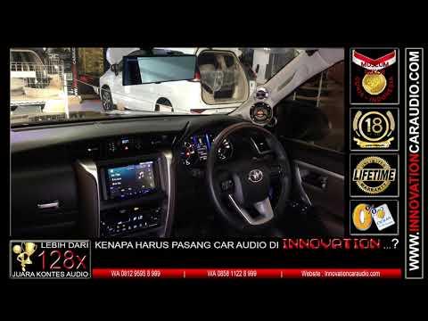 Paket audio mobil Fortuner VRZ | Innovation car audio Jakarta
