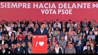 Sánchez se compromete a desarrollar la legislatura de las oportunidades