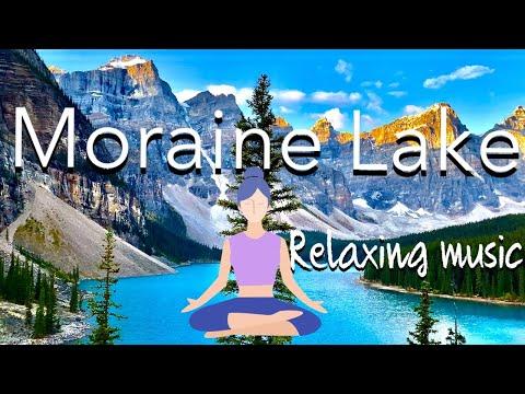 Sleeping Music, Insomnia, Meditation Music, Relaxing Music, ASMR || Moraine Lake Alberta, Canada