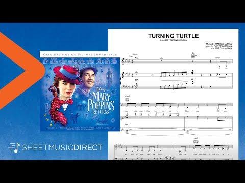 Turning Turtle Sheet Music – Meryl Streep (from Mary Poppins Returns)