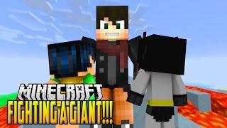 Evil Minecraft Ethan Volcano Battle vs Baby Batman