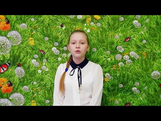 Изображение предпросмотра прочтения – ВалерияИбаева читает произведение «Весна» И.З.Сурикова