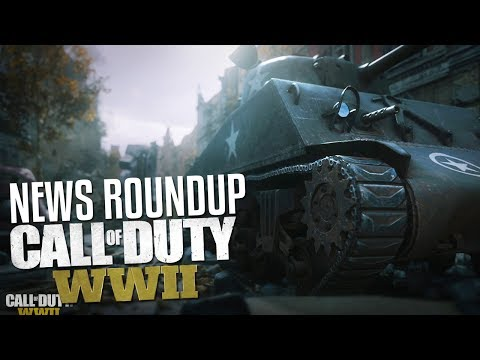 Call of Duty WW2 News Roundup! (All The Small Things)
